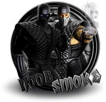 Noob & Smoke by xDarkArchangel