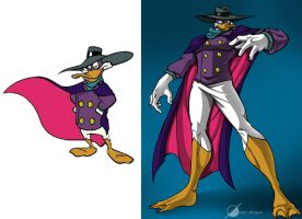 Darkwing Duck by Osmar-Shotgun