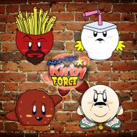 Aqua Teen Kirby Force by Dragonllama