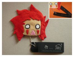 Petit Plushie Axel by NoTodoCosplay
