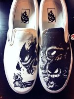 Cubone Haunter Ghastly and Gengar Custom Vans by Kyg0n