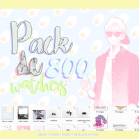 #Pack 800 watchers. by woggyu