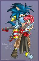 ASADAE - Metal and Amy Rose by carriepika