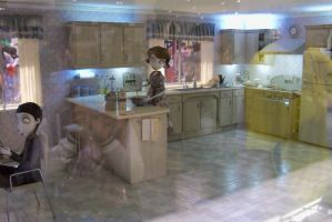 More Frankenweenie Models- Victor's kitchen 2 by Dinalfos5