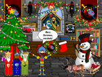 Colonel Knight Rider's Christmas Office! by Colonel-Knight-Rider