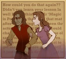 Rumpel and Belle - season two contest entry by irina-bourry