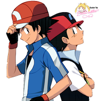 RENDER / ASH KETCHUM / POKEMON by DeniszAlexandra