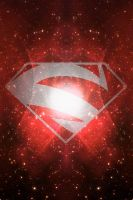 Stary Superman Red Background by KalEl7