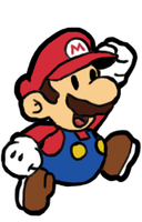 Paper Mario! by Displodes