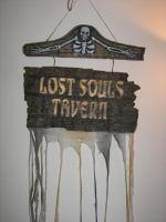 Lost Souls Tavern Sign by seiyastock