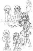 Lilina Sketches by firehorse6