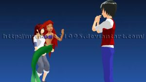 MMD A present for you by MrMario31095