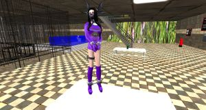 Prisonner Mortice prison Godess amethysthe by MillianaMoonwalll