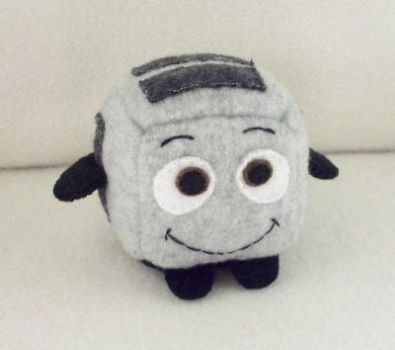 The Brave Little Toaster Cube Plushie by JeffSproul