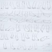 Practice Session: Feet by Lyraina