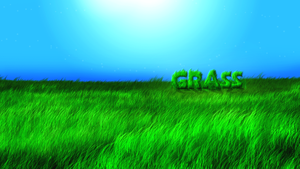 Grass Wallpaper by csys-279