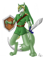 Link the Lupe by Peachy-chan