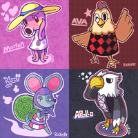 Animal Crossing Month: Days 1-4 by Rickz0r