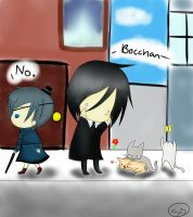 Sebastian and Ciel by StealersOfSouls