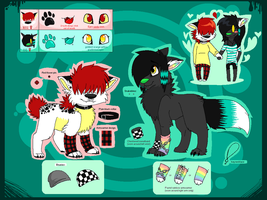 OLD Rose and Kai Double Reference Sheet by SpunkyRacoon