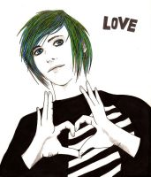 Emo Love by DevastationRises