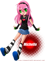 Art Trade: Michelle by dragonfire023