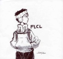 FLCL by CaptainCanada