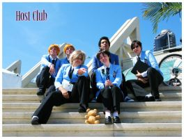 Ouran Host Club Cosplay by KageII