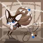 Kit(sune) Auction - Twiggy - Over by SouloftheSky