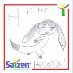 H is for Helioptile! by ryanthescooterguy