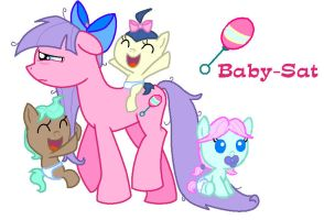 Baby-Sat with adoptable babies. by Phantom-Rainbow