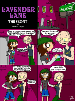 Lavender Lane - The Front (original mini-comic) by Sean-M-Yeager