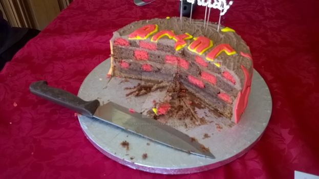 ACDC cake - inside by SaturnsLegacy
