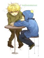 Craig x Tweek by Liche1004