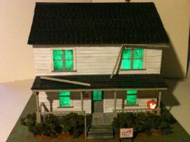 Michael Myers house  Halloween model for sale by johnstewartart
