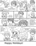 DN: Quick Xmas Comic by Leah-Sama