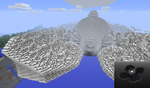 Mandelbulb 3D to Minecraft test by Theli-at