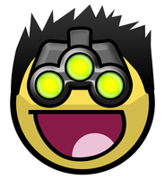 Sam Fisher Awesome Smiley by E-rap