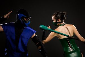 Jade vs Sub Zero by theARTofCARNAGE