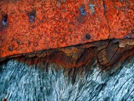 Stock texture - Rust and wood II by rockgem