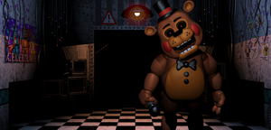 Satanic toy freddy by XxOrangeswirlxX