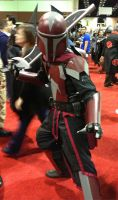 Sirus the Red - Mandalorian Armor Debut! by Argnarock
