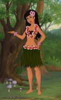 Hawaiian Girl by LadyIlona1984