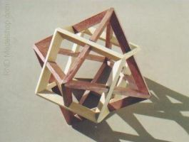 "Octahedron and Cube ""Dual"" by RNDmodels"
