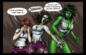 She Hulk Transformation by RamonVillalobos