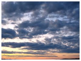 Clouds in Maine IV by Fallensbane