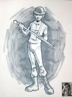 Heroes '09: Clockwork Orange by stratosmacca