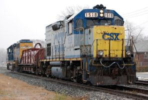 csx 1518 by JDAWG9806