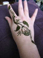Rose Henna by chibiTwins