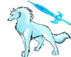 Wolf of the Ice Sword by Twilight-Spirit-Wolf